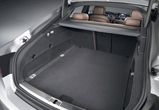 AUDI A7 Sportback I hatchback przestrzeń załadunkowa