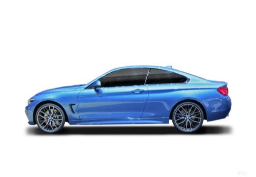 BMW Seria 4 coupe boczny lewy