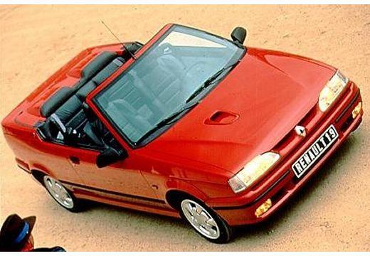 RENAULT R19 kabriolet czerwony jasny przedni prawy