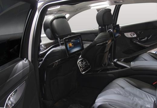 MERCEDES-BENZ S Klasa sedan wnętrze