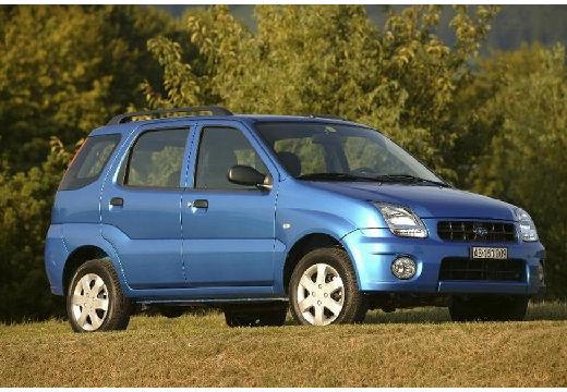 SUBARU Justy hatchback niebieski jasny przedni prawy
