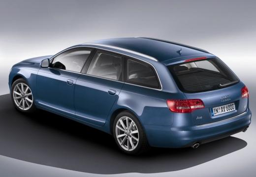 AUDI A6 kombi niebieski jasny tylny lewy