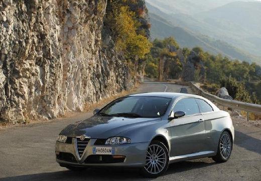 ALFA ROMEO GT coupe silver grey przedni lewy