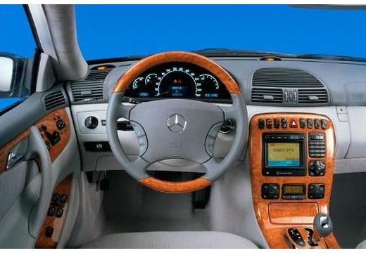 MERCEDES-BENZ Klasa CL coupe tablica rozdzielcza