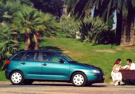 SEAT Ibiza III hatchback zielony jasny boczny prawy