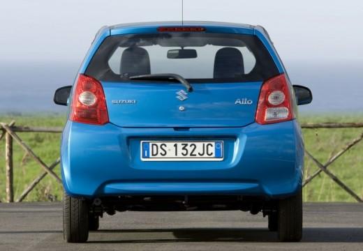 SUZUKI Alto IV hatchback niebieski jasny tylny