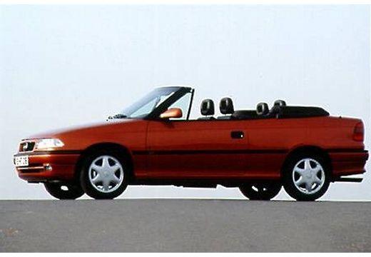 OPEL Astra Cabriolet II kabriolet bordeaux (czerwony ciemny) przedni lewy