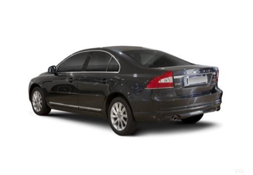 VOLVO S80 sedan brązowy tylny lewy