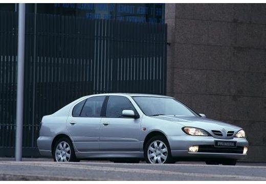 NISSAN Primera III hatchback silver grey przedni prawy