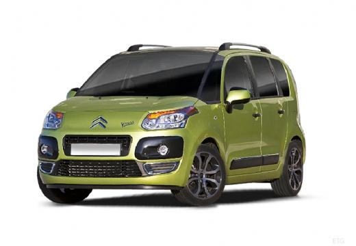 CITROEN C3 Picasso I hatchback zielony jasny