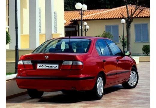 NISSAN Primera II sedan czerwony jasny tylny prawy