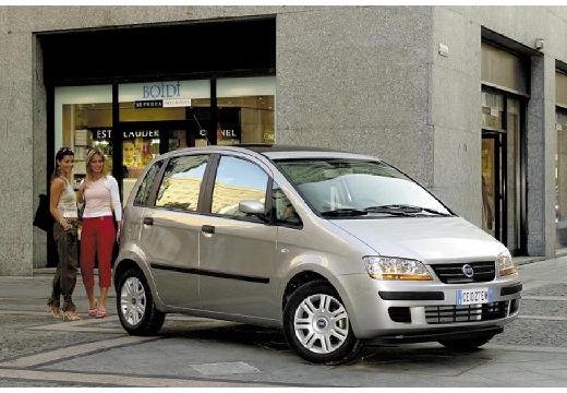 FIAT Idea I kombi silver grey przedni prawy
