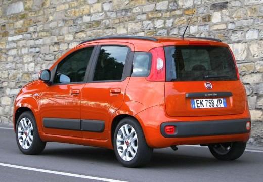FIAT Panda hatchback czerwony jasny tylny lewy