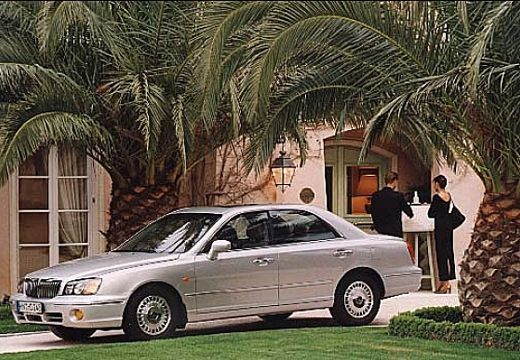 HYUNDAI XG I sedan silver grey przedni lewy