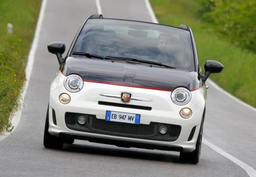 FIAT 500 C I kabriolet biały przedni