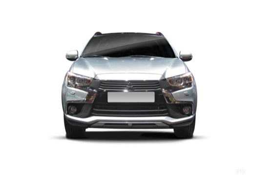 MITSUBISHI ASX hatchback silver grey przedni