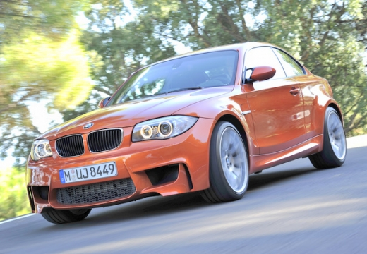 BMW Seria 1 E82 II coupe czerwony jasny przedni lewy