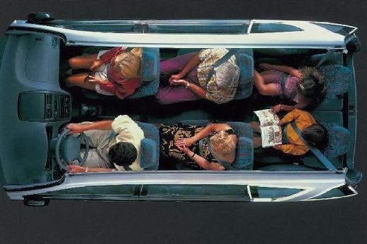 Toyota Picnic I van wnętrze