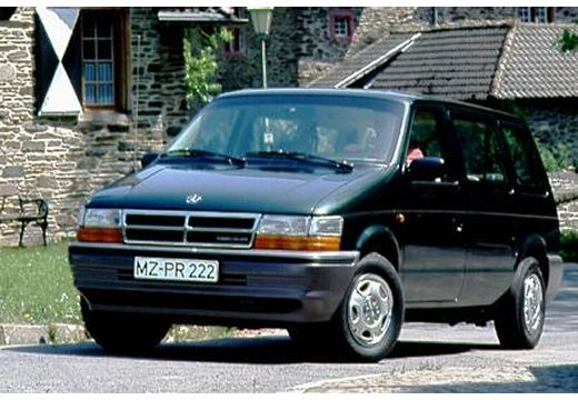 CHRYSLER Voyager Van I kombi zielony przedni prawy