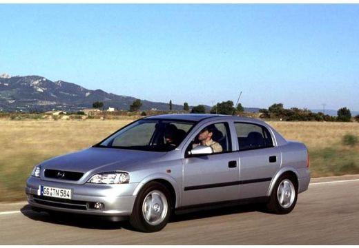 OPEL Astra II Classic sedan silver grey przedni lewy