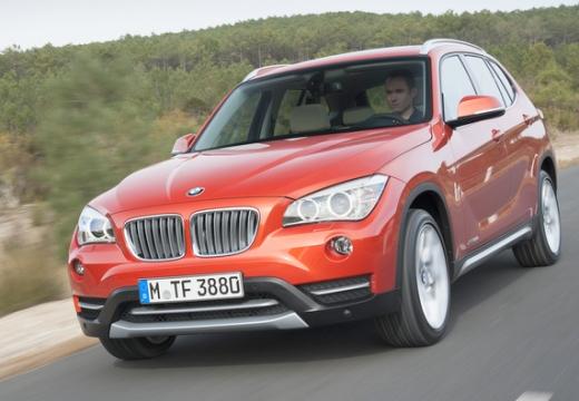 BMW X1 универсал оранжевый передний левый