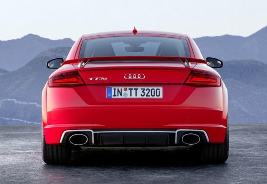 AUDI TT III coupe czerwony jasny tylny