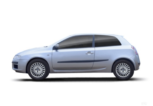 FIAT Stilo I hatchback boczny lewy