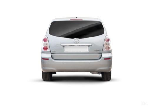Toyota Corolla Verso III kombi mpv silver grey tylny