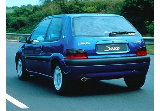 CITROEN Saxo hatchback niebieski jasny tylny lewy