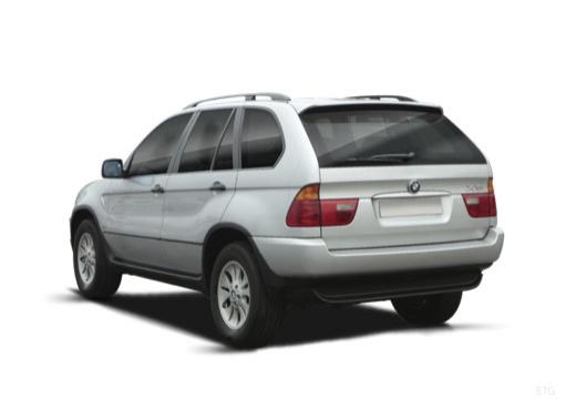 BMW X5 X 5 E53 I kombi silver grey tylny lewy