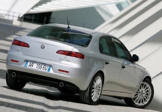 ALFA ROMEO 159 I sedan silver grey tylny prawy