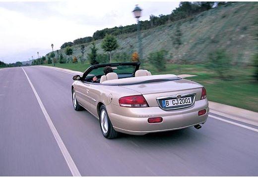 CHRYSLER Sebring Cabrio I kabriolet złoty tylny lewy