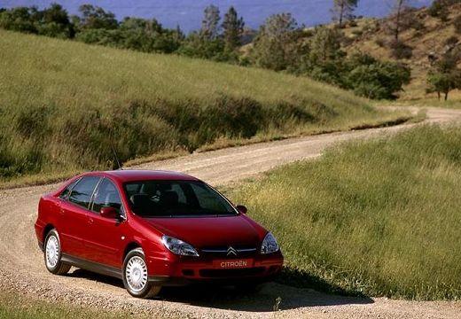 CITROEN C5 I hatchback czerwony jasny przedni prawy