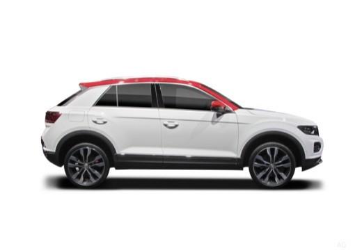 VOLKSWAGEN T-ROC hatchback boczny prawy