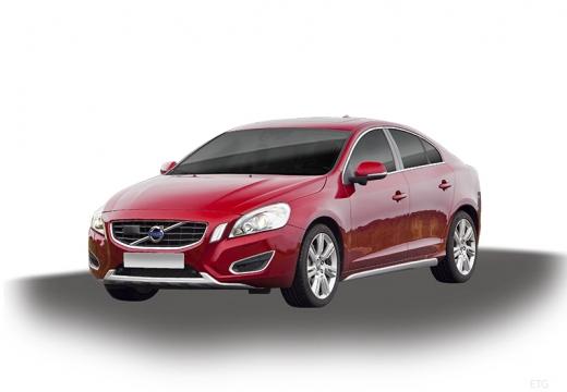 VOLVO S60 IV sedan czerwony jasny