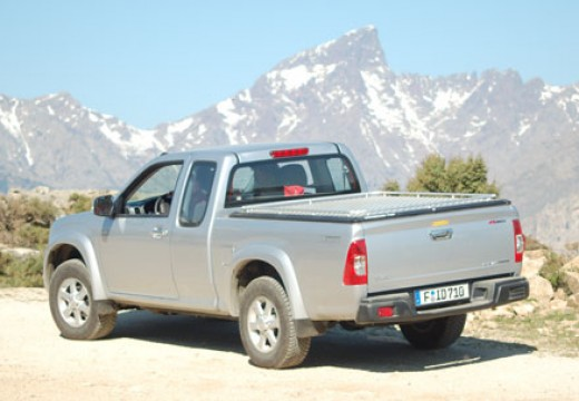 ISUZU D-Max I pickup silver grey tylny lewy