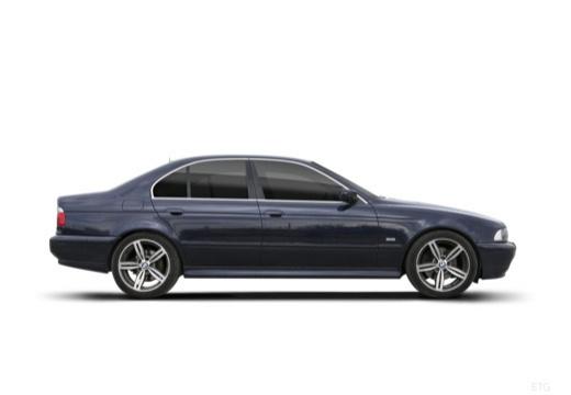 BMW Seria 5 E39 sedan boczny prawy