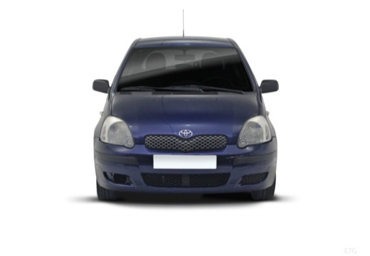 Toyota Yaris II hatchback przedni