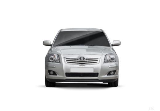 Toyota Avensis IV sedan silver grey przedni