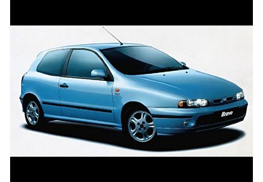 FIAT Bravo I hatchback niebieski jasny przedni prawy