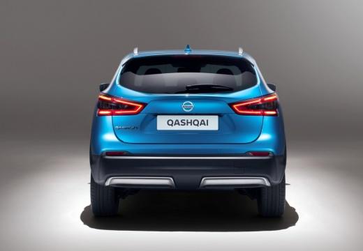 NISSAN Qashqai IV hatchback niebieski jasny tylny