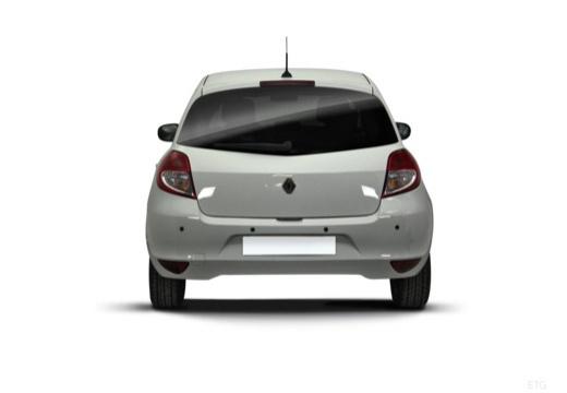 RENAULT Clio III II hatchback biały tylny