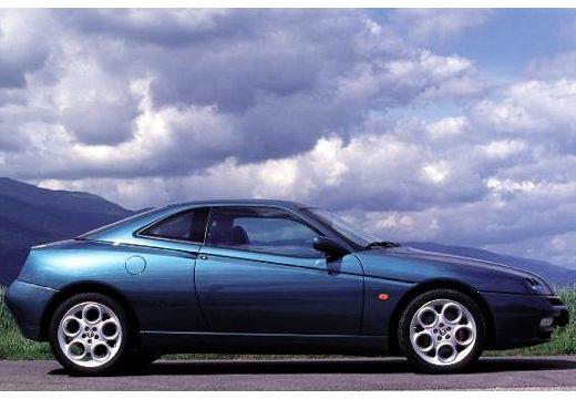 ALFA ROMEO GTV coupe zielony boczny prawy