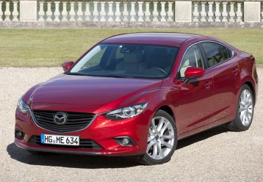 MAZDA 6 V sedan czerwony jasny przedni lewy