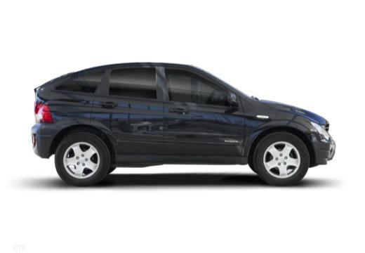 SSANG YONG Actyon hatchback czarny boczny prawy