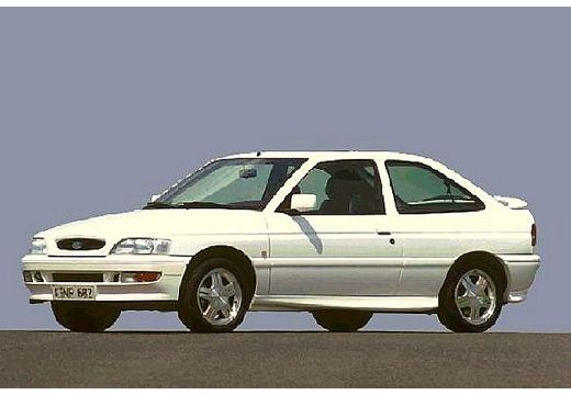 FORD Escort hatchback biały przedni lewy
