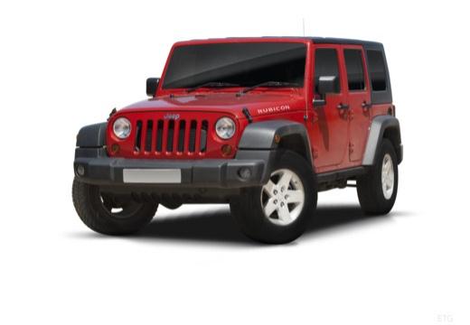 JEEP Wrangler IV soft top czerwony jasny przedni lewy