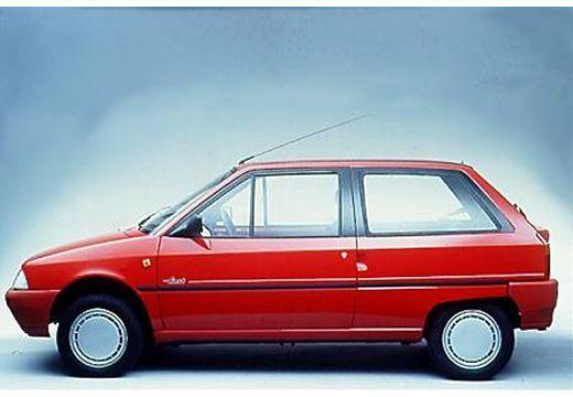 CITROEN AX I hatchback czerwony jasny boczny lewy