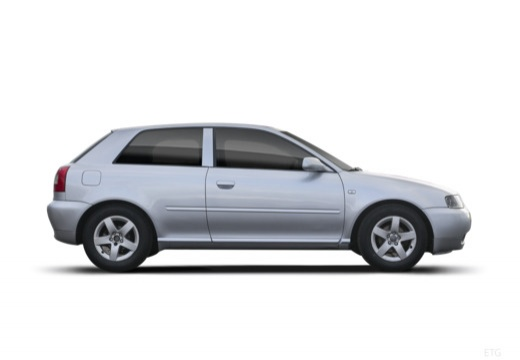 AUDI A3 /S3 8L II hatchback boczny prawy