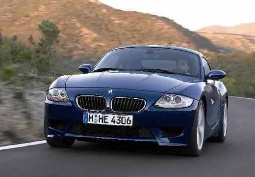 BMW Z4 coupe niebieski jasny przedni lewy
